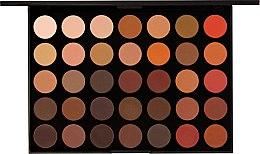 Духи, Парфюмерия, косметика Палетка теней - Morphe 35OM Nature Glow Matte Eyeshadow Palette