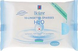 Духи, Парфюмерия, косметика Детские обогащенные плотные салфетки - Biolane Baby H2O Napkins Eco Refill