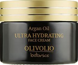 Духи, Парфюмерия, косметика Увлажняющий крем для лица - Olivolio Argan Oil Ultra Hydrating Face Cream SPF 20