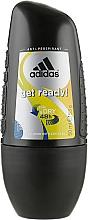 Духи, Парфюмерия, косметика Роликовый Дезодорант - Adidas Anti-Perspirant Get Ready Cool&Dry 48h
