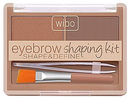 Духи, Парфюмерия, косметика Набор для оформления бровей - Wibo Eyebrow Shaping Kit