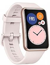 "Духи, Парфюмерия, косметика Смарт-часы ""Сакура розовая"" - Huawei Watch Fit"