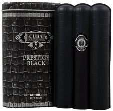 Духи, Парфюмерия, косметика Cuba Prestige Black - Туалетная вода