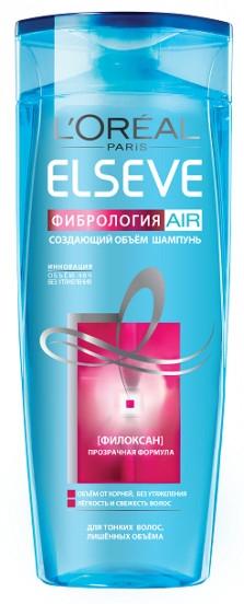 "Шампунь создающий объем ""Фибрология AIR"" - L'Oreal Paris Elseve Shampoo — фото N1"