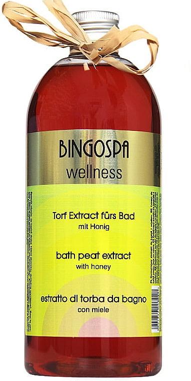 Экстракт для душа - BingoSpa Peat Nectar For Bath With Honey