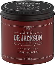Духи, Парфюмерия, косметика Глянцевый воск для укладки волос гелевой текстуры, сильная фиксация - Dr Jackson Gentlemen Only Old School Barber Antidot 1.3 Hard Hairgum