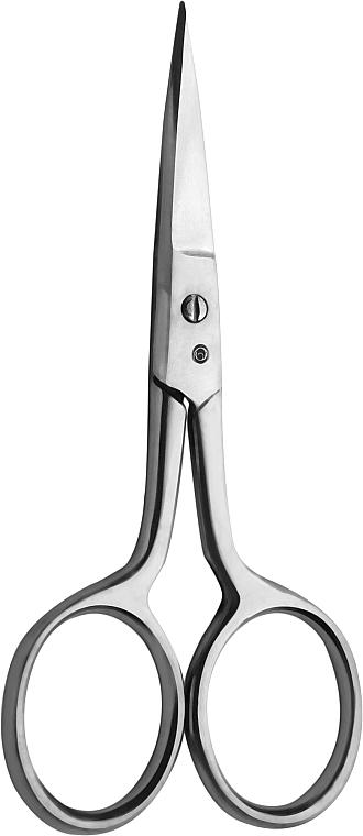 Ножницы маникюрные ZN-01, серые - Miss Claire