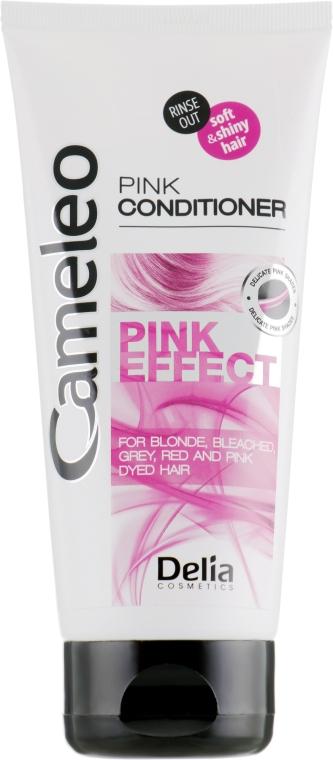 Интенсивно регенерирующий кондиционер с розовым оттенком - Delia Cosmetics Cameleo Pink Effect