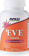 Духи, Парфюмерия, косметика Мультивитамины в таблетках для женщин - Now Foods Eve Womans Multi