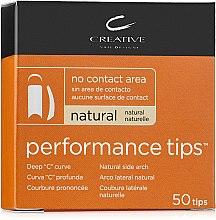Парфумерія, косметика Тіпси без контактної зони - CND Performance Tips Natural