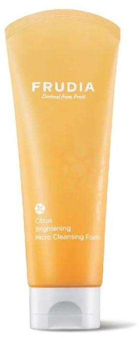 Пенка придающая сияние коже с цитрусом для лица - Frudia Brightening Citrus Micro Cleansing Foam — фото N1
