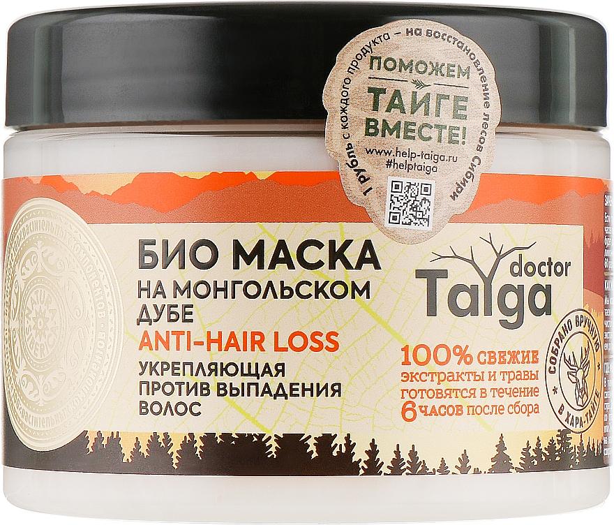 Укрепляющая маска против выпадения волос - Natura Siberica Doctor Taiga Mask