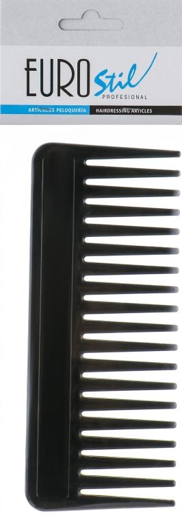Расческа для волос, 00426, черная - Eurostil