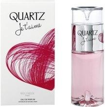 Духи, Парфюмерия, косметика Molyneux Quartz Je T'aime - Парфюмированная вода