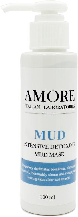 Концентрированная очищающая грязевая маска для жирной и комбинированной кожи - Amore Intensive Detoxing Mud Mask — фото N3