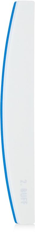 Пилка для нігтів полірувальна, блакитна - Malva Cosmetics — фото N2