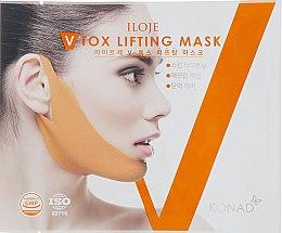 Духи, Парфюмерия, косметика Корректирующая лифтинг-маска от второго подбородка - Konad Iloje V Tox Lifting Mask