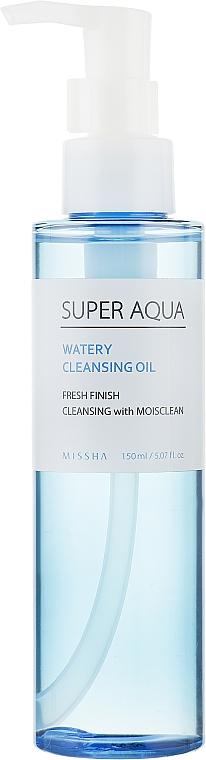 Очищающее масло для снятия макияжа - Missha Super Aqua Watery Cleansing Oil