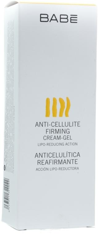 """Антицелюлітний підтягуючий крем-гель """"Система ліпоредукційного масажу"""" - Babe Laboratorios Anti-Cellulite Firming Cream-Gel — фото N3"""