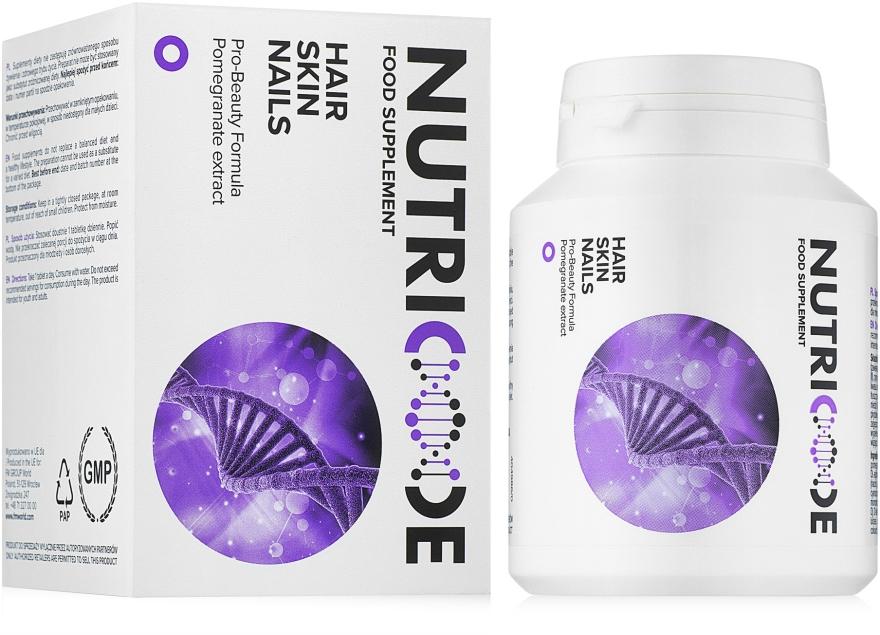"""Диетическая добавка """"Волосы, кожа, ногти"""" - Nutricode Food Supplement Hair Skin Nails"""