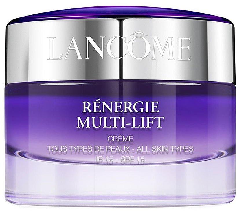 Дневной антивозрастной крем для лица с эффектом лифтинга - Lancome Renergie Multi-Lift Day Cream SPF15