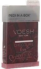 "Духи, Парфюмерия, косметика Набор для педикюра ""Шоколадная любовь"" - Voesh Deluxe Pedicure Chocolate Love Pedi In A Box 4 in 1"