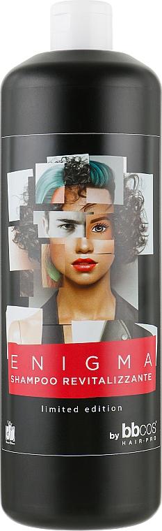 Шампунь с гиалуроновой кислотою и экстрактом гранта - BBcos Enigma Shampoo Revitalizzante