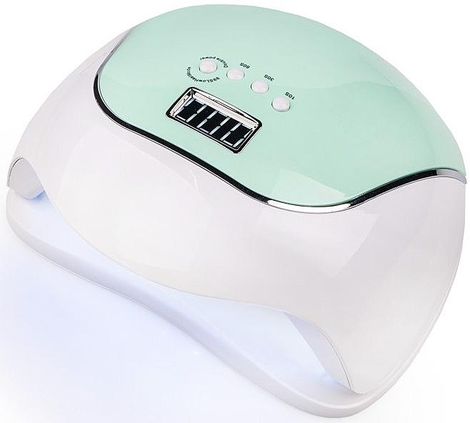 Лампа UV/LED, зеленая - Sun BQ-V5 Macaroon Green 120W
