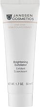 Духи, Парфюмерия, косметика Пилинг-крем для выравнивания цвета лица - Janssen Cosmetics Brightening Exfoliator