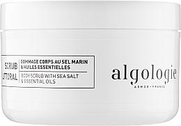 Духи, Парфюмерия, косметика Эксфолиант для тела с солью и эссенциальными маслами - Algologie Body Scrub With Sea Salt & Essential Oils