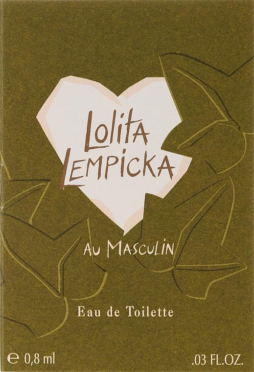 Lolita Lempicka Au Masculin - Туалетная вода (пробник)