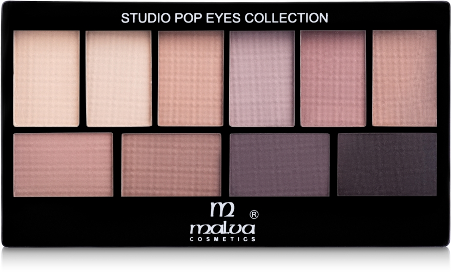 Набор теней для век - Malva Cosmetics Eye Shadow Set Secret World