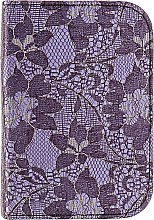 Духи, Парфюмерия, косметика Маникюрный набор MS-22405-1-S, фиолетовый - Zinger