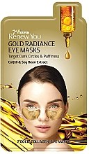 Духи, Парфюмерия, косметика Маска для контура глаз - 7th Heaven Renew You Gold Radiance Eye Mask