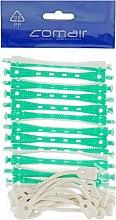 Духи, Парфюмерия, косметика Бигуди для холодной завивки, бело-зелёные, d6 - Comair