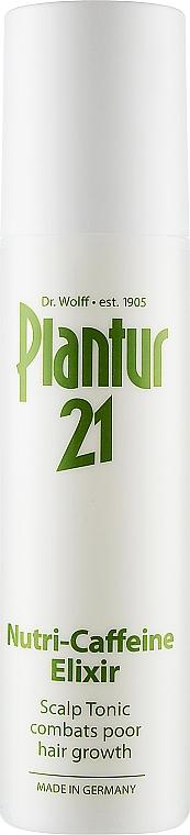 Эликсир нутрикофеиновый против выпадения волос - Plantur Nutri Coffeine Elixir