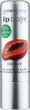 """Духи, Парфюмерия, косметика Бальзам для губ """"Папайя"""" - Greenland Lip Balm Papaya"""