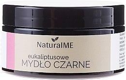 Духи, Парфюмерия, косметика Натуральное черное мыло с эвкалиптом - NaturalME Black Soap