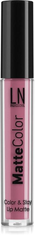 Жидкая помада для губ - LN Professional Matte Color