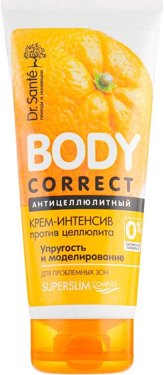 Антицеллюлитный крем-интенсив против целлюлита - Dr. Sante Body Correct