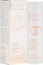Духи, Парфюмерия, косметика Органический шампунь для волос - Bema Cosmetici Bema Love Bio Frequent Wash Shampoo