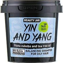 "Духи, Парфюмерия, косметика Шампунь для жирных волос ""Yin and Yang"" - Beauty Jar Shampoo For Oily Hair"