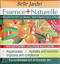 "Духи, Парфюмерия, косметика Крем ""Облепиха, Коллаген и Эластин"" для всех типов кожи - Belle Jardin Essence+Naturelle Cream"