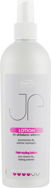 Лосьон для укладки волос очень сильной фиксации - Joanna Professional Lotion for Hair Styling Very Strong