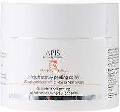 Духи, Парфюмерия, косметика Солевой пилинг для рук - APIS Professional Grapefruit terApis Dead Sea Minerals Hands Salt Peeling