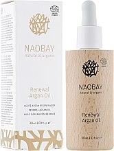 Духи, Парфюмерия, косметика Восстанавливающее аргановое масло для лица - Naobay Renewal Argan Oil