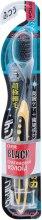 Духи, Парфюмерия, косметика Зубная щетка средней жесткости, черно-желтая - Dentalpro Ultra Slim Plus Big Head