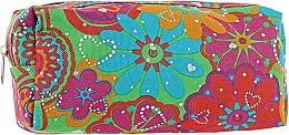 Духи, Парфюмерия, косметика Косметичка 12-16, зеленая с цветам - Globos Group
