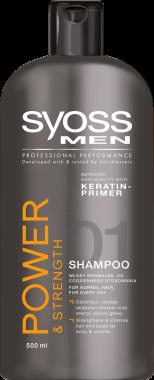 Шампунь для мужчин - Syoss Men Power