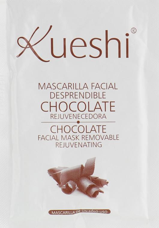 Маска для лица отшелушивающая с шоколадом - Kueshi Mascarilla Facial Desprendible Chocolate